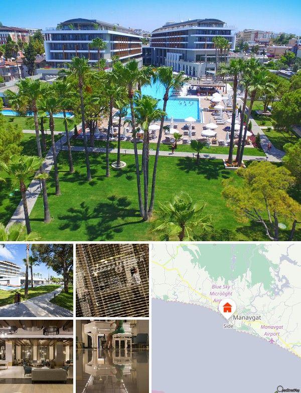 Questo distinto hotel è ubicato a circa 100 metri dalla splendida spiaggia. Nel raggio di circa 2 chilometri sono disponibili svariate possibilità di shopping e divertimento. In prossimità dell'hotel si trova una stazione dei taxi, mentre l'aeroporto di Antalya è raggiungibile in circa 70 minuti.