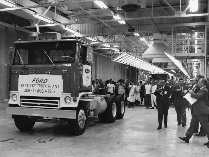 Kentucky Ford Truck Plant Louisville Ky 1969 Big Lou