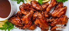 Sticky bbq wings recipe Thank you #frigidaire