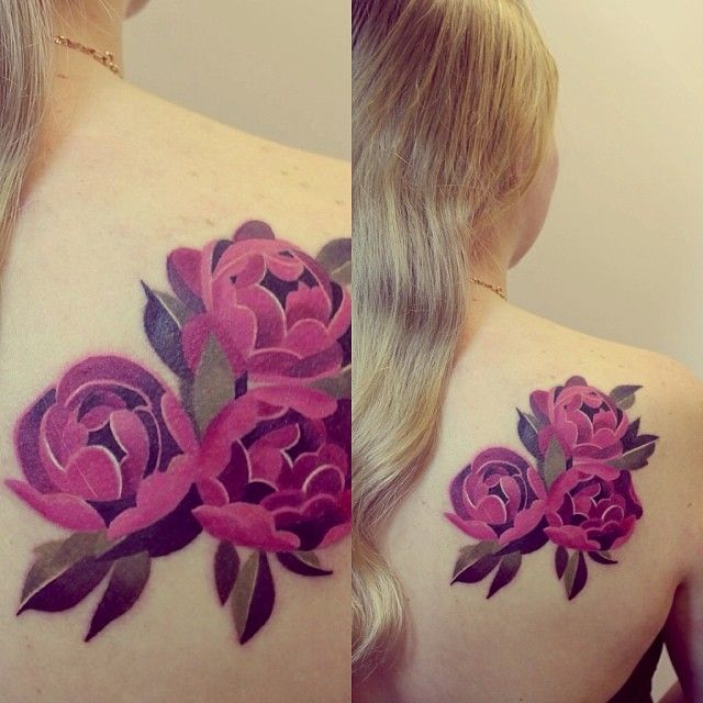 297 best watercolor tattoos images on pinterest for Garden of eden tattoo