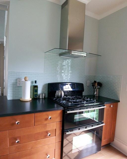 Medium Brown Kitchen Cabinets: IKEA Adel Medium Brown Kitchen Cabinets