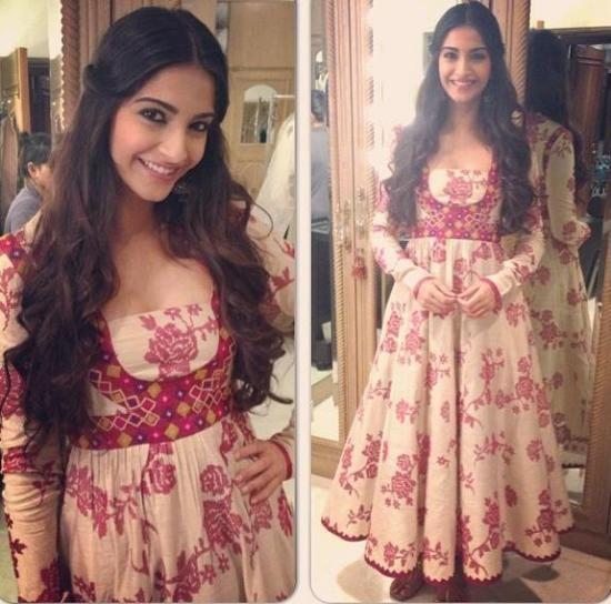 Sonam Kapoor - she is too cute.