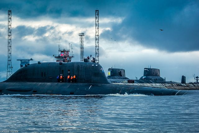 Russia's Post Soviet-era Strategic/Tactical Yasen class Submarine: The Severodvinsk will replace the Akula class submarines.