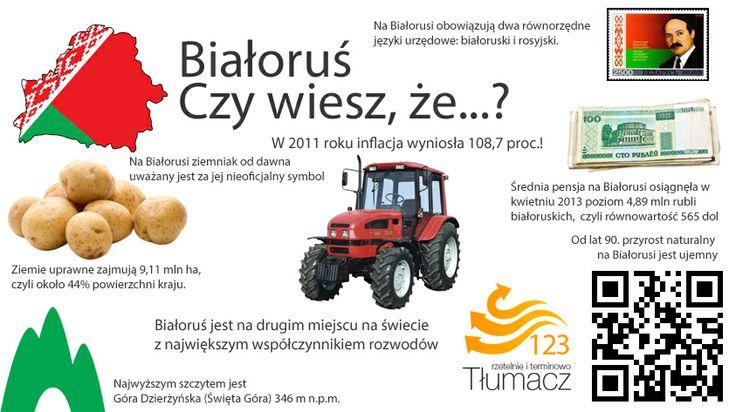 Białoruś ciekawostki językowe i kulturowe