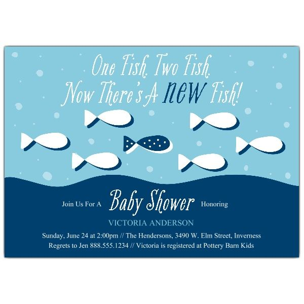 gone fishin baby shower invitations