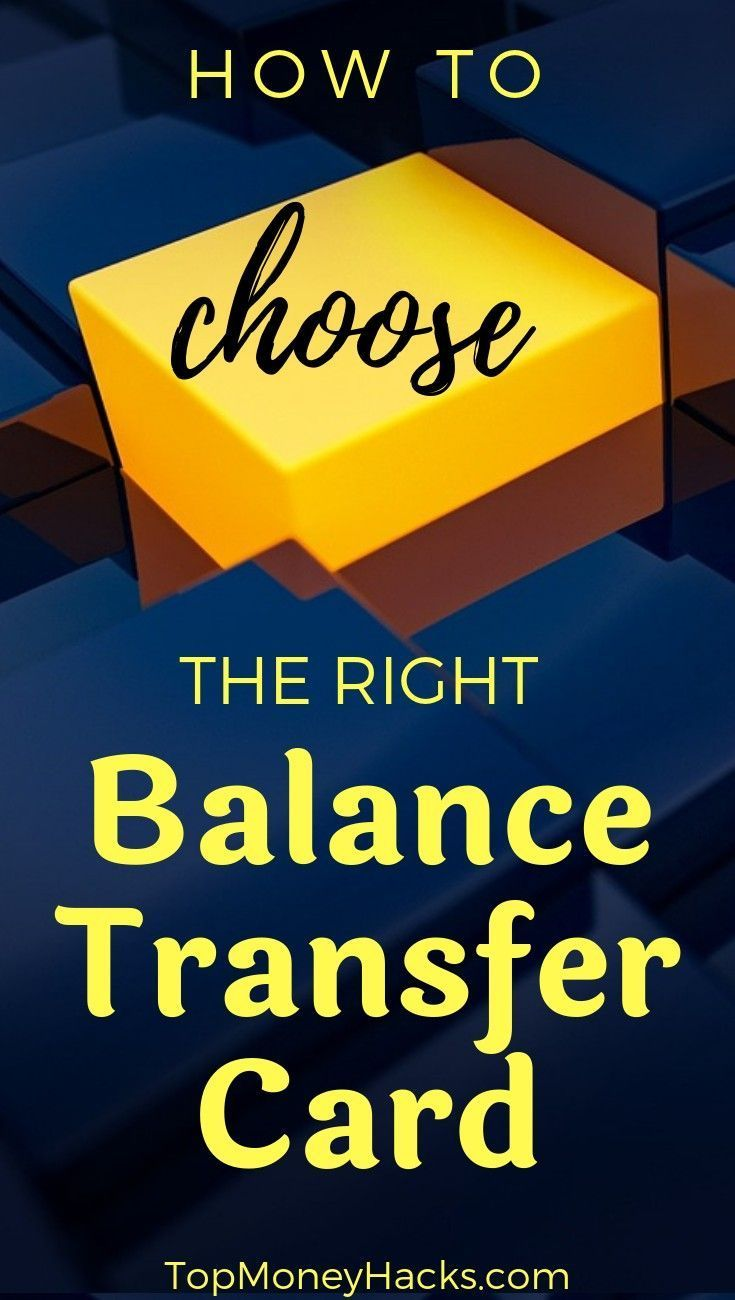 A complete guide to choosing the best balance transfer
