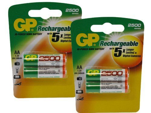 Canon AF35M AA NiMH Rechargeable GP Battery - 4pk (2500mAh) by GP. $8.50. Canon AF35M AA NiMH Rechargeable GP Battery - 4pk (2500mAh)