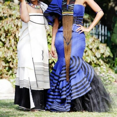 Xhosa traditional dress with modern image.African Fashion, Wedding ...
