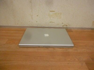 "APPLE MACBOOK PRO A1260 15.5"" Laptop Core 2 Duo w/2.5 GHz Webcam Airport Extreme"