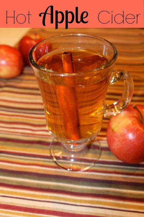 how to make hot apple cider drink