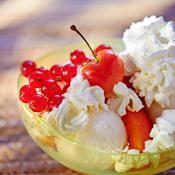 Le Saint-Honoré de l'été : la coupe glacée - une recette Glace - Cuisine