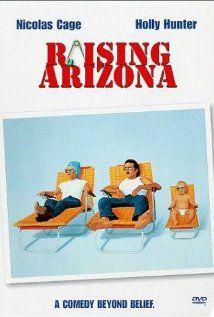 Nicolas Cage and Holly Hunter. Enough said.: Rai Arizona, Funny Movie, Coen Brother, Nicolas Cages, Holly Hunters, So Funny, Favorite Movie, Raised Arizona, Arizona 1987