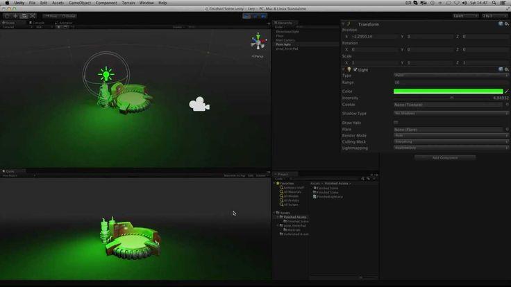 Lerp (Linear interpolation) - Animaciones suaves para cambiar un valor en Unity