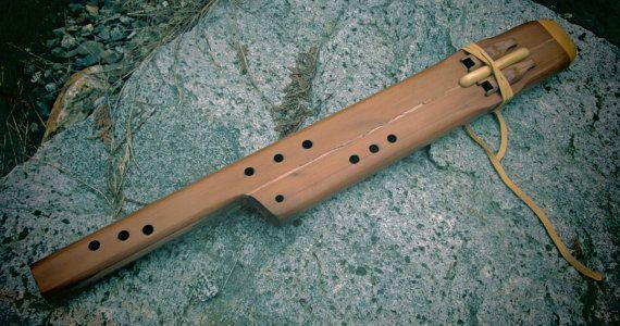 Native American Style 26 Double Melody flute  by BlueStarSpirit9