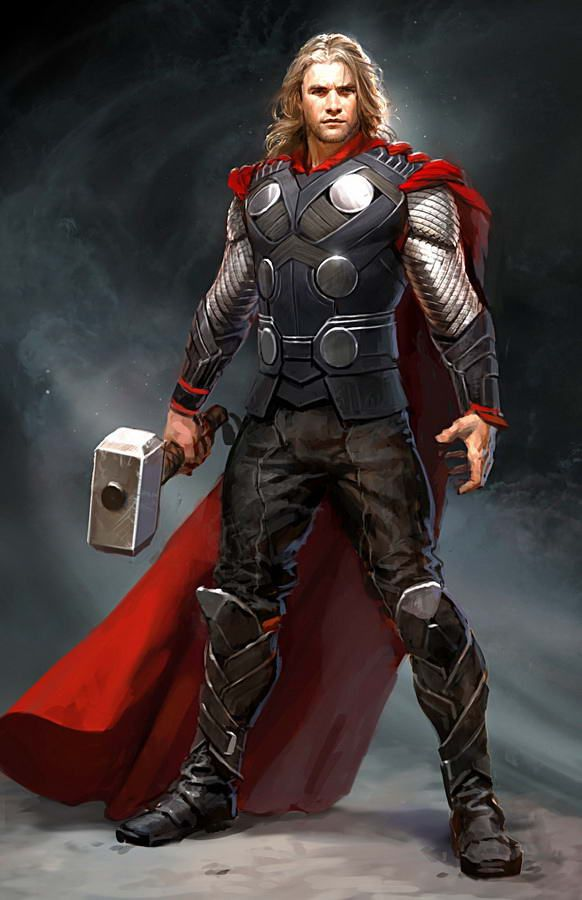 I think It's a really good drawing but, it doesn't look like Chris Hemsorth - The actif of Thor. I know as It's difficult to reproduce the same apearance...