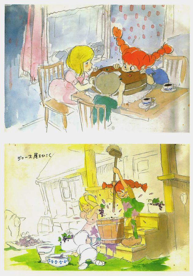 Pippi Longstocking by Hayao Miyazaki and Isao Takahata, denied by Astrid Lindgren in 1971