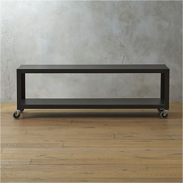 go-cart carbon  rolling tv stand/coffee table  | $169