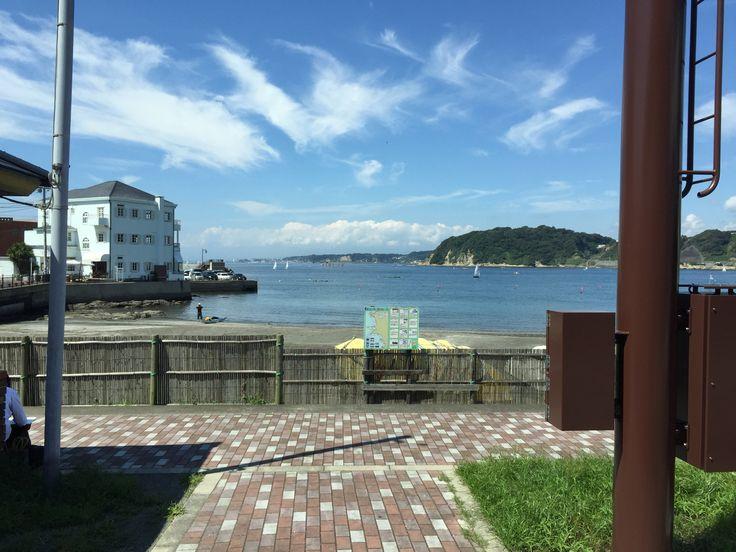 A good day in Hayama, Kanagawa, Japan.