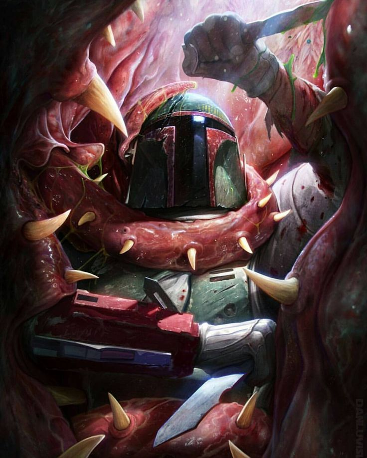 The Death of Boba Fett by Dan Luvisi