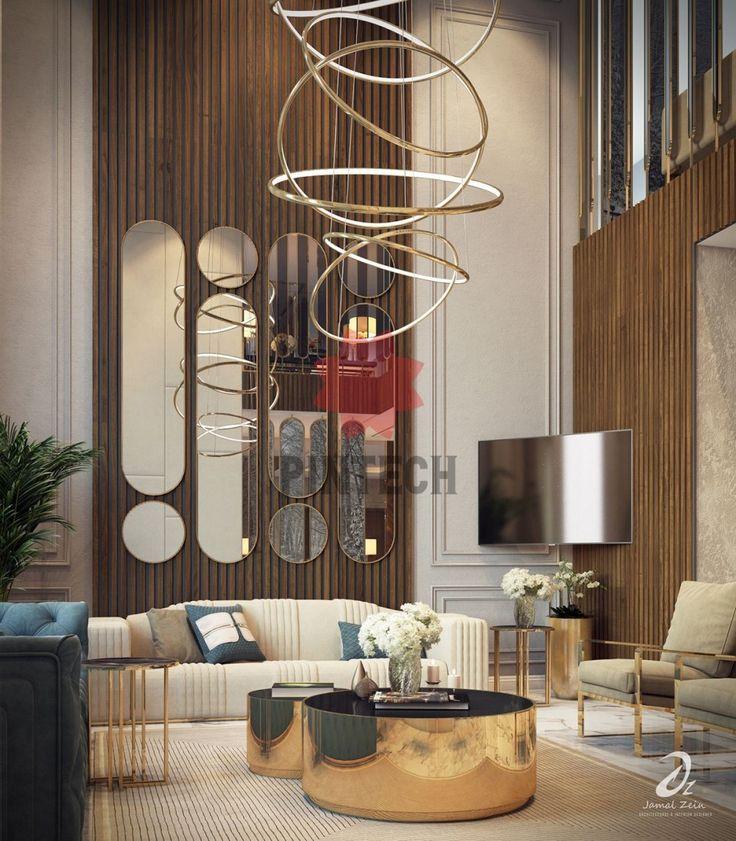 Living Hall Interior Design: Hall Design Hall Design On Behance In 2020