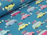 Eine tolle Geschenkidee ist die selbstgenähte Spielzeugauto-Garage.
