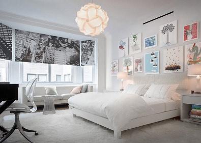 IQ lamp in bedroom
