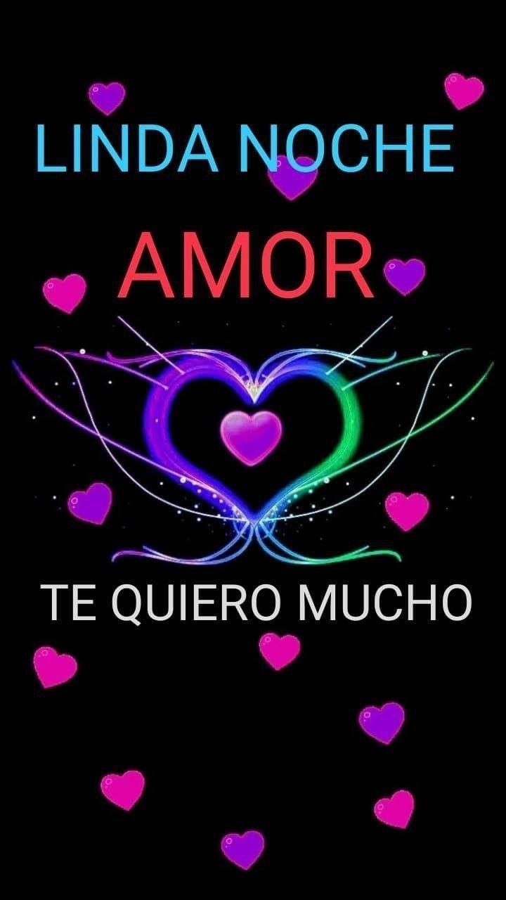 Muy Buenas Noches Mi Amor Para Facebook Good Morning Love Amor Quotes Hug Quotes