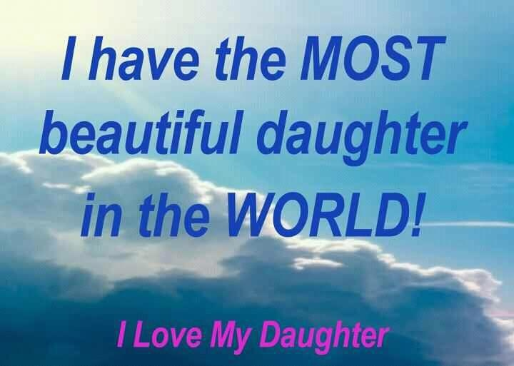 Daughter Quotes For Facebook: 7 Best Images About I Love My Daughter On Pinterest