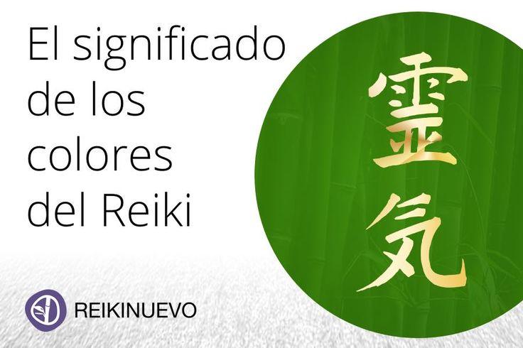 El significado de los colores del Reiki
