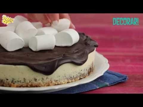 Malvaviscos Buffys | Recetas | Cheesecake Brownie