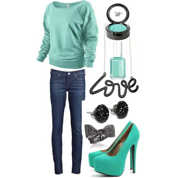 """""""tiffany blue <3"""" by lizcantrell1 on Polyvore"""