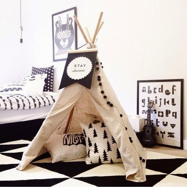 the boo and the boy: teepees