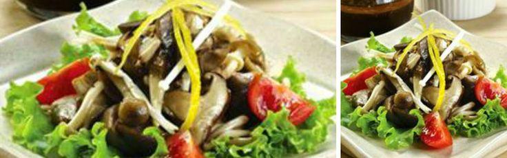 Resep Sayur Sehat untuk Diet: Salad Jamur | Area Halal