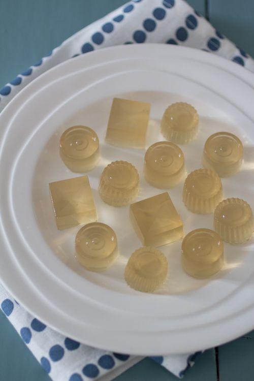 Groene thee gummies, gelatine vervangen door agar agar (1 op 1)