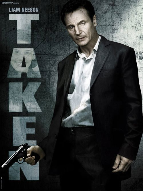Taken (2008) Makes you think twice about not listening to your father. While vacationing with a friend in Paris, an American girl is kidnapped by a gang of human traffickers intent on selling her into forced prostitution. Working against the clock, her ex-spy father must pull out all the stops to save her. Liam Neeson is brill!