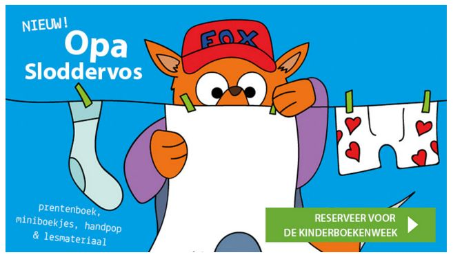 Kinderboekenweek 2016 - Opa Sloddervos http://onderwijsstudio.nl/kinderboekenweek-2016/