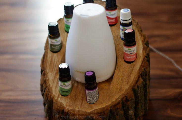 DIY Wood Log Essential Oil Diffuser & Holder | My BJs Wholesale