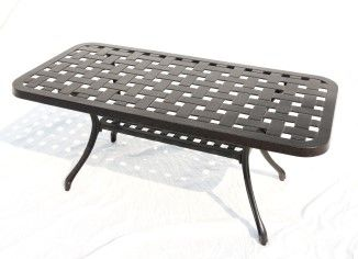 """Titan Rec. Coffee Table BY PROTEGE D 21"""" W 44"""" H 19"""""""