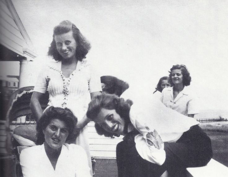 The Kennedy sisters, Pat, Kathleen, Eunice, and Jean, at Hyannis Port.