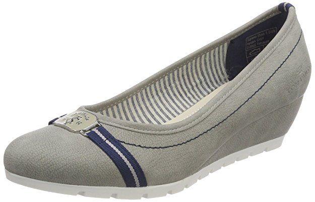 Tom Tailor Damen 4893602 Pumps Grau Grey 36 Eu Schuhe Damen Schuhe Aufbewahren Sommerschuhe Sommer Outfit Schuhe Damen Schuhe Frauen Sommer Outfits Damen