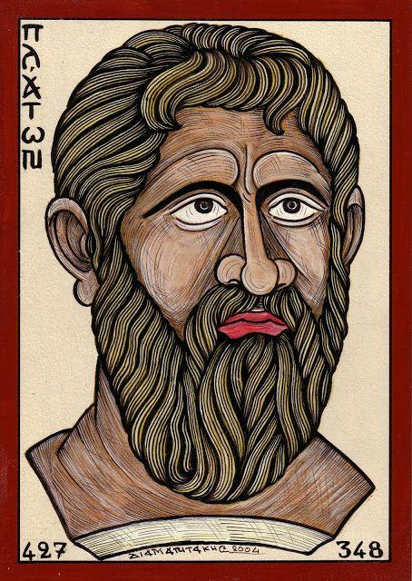 ΠΛΑΤΩΝ..Plato.. ήταν αρχαίος Έλληνας φιλόσοφος από την Αθήνα, ο πιο γνωστός μαθητής του Σωκράτη και δάσκαλος του Αριστοτέλη....