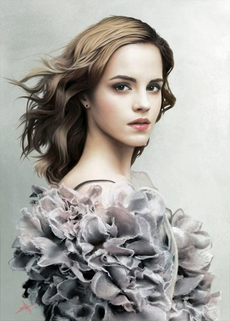 Emma Watson' Portrait by ~emi-s ( http://amazingcinema.it/emma-watson/ )