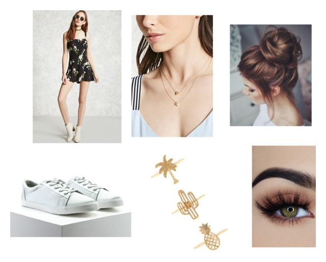 """Untitled #83"" by rosiepotter on Polyvore featuring Forever 21"