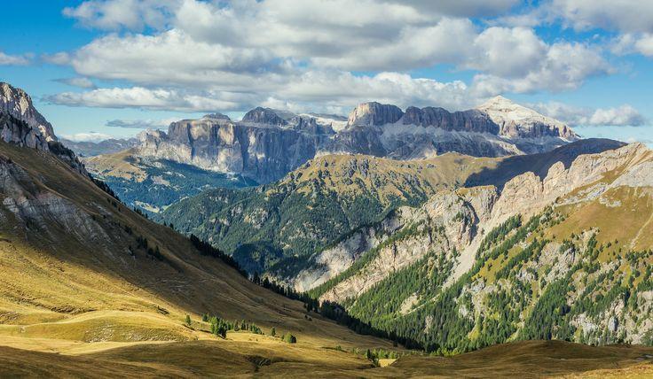 https://flic.kr/p/yA1c6C | Vista sulle Dolomiti | Dal Rifugio Passo San Nicolò, Val Contrin - Dolomiti Trentine - E' stata dura ma ne è valsa la pena!!!!