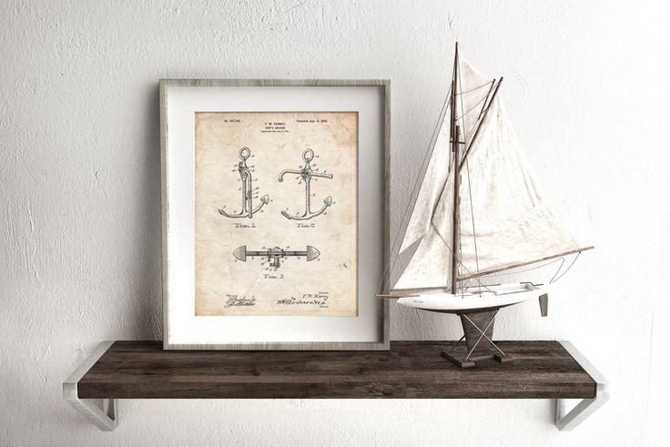 Vintage Anchor Wall Decor : Ideas about anchor wall decor on