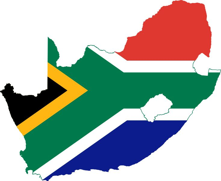 File:Flag-map of South Africa.svg