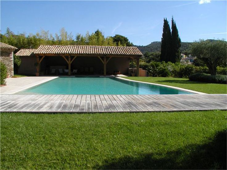 Piscine et pool house st marc de jaumegarde 13100 piscines piscine piscine spa et - Photos pool house piscine ...