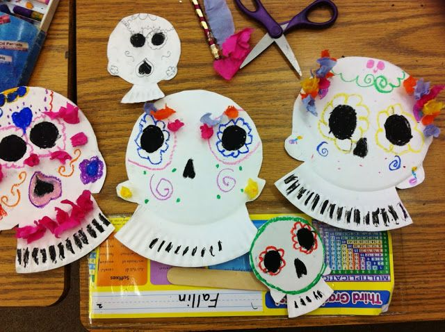 sketchy notions : sugar skull masks (i love when i see my projects come to life!)