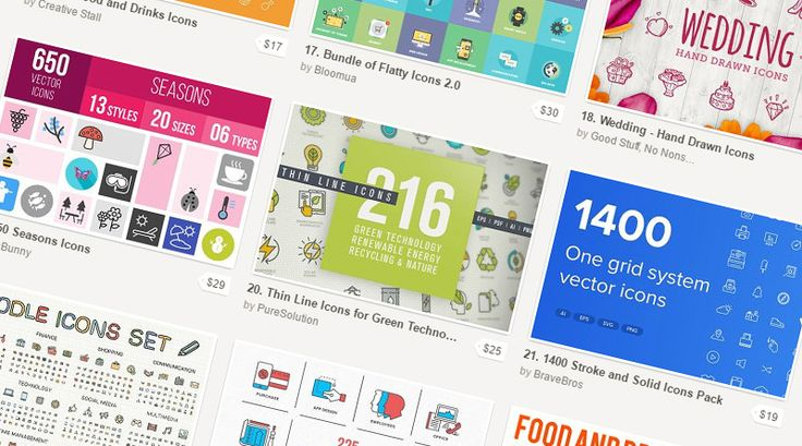 CreativeMarket is a great online resource for Wordpress themes, photographs…