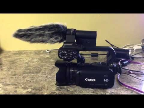 Canon XA10 with Rode Furry Video Mic Rig.  Although the built-in mic on the Canon XA10 captures quality audio, I wanted to add a Rode Videomic to kick up audio to the next level.  I also use a lavaliere or Shure PG58 mic, when I'm filming in my studio and/or don't want to draw attention outdoors with all of the mics.  Please share this video and watch my other videos too.  Cheers!